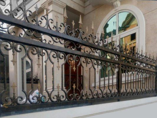 Hàng rào sắt hộp tại Đà Nẵng
